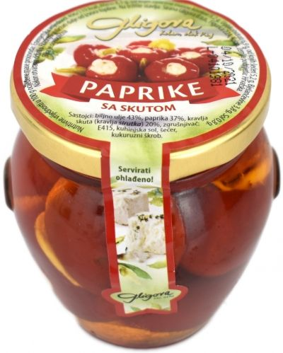 Paprika stuffed with skuta - 190 g