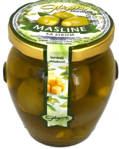 Olives stuffed with cheese - 190 g
