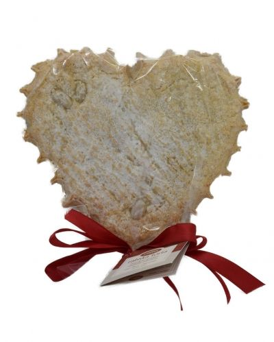 Rab cake, heart shape