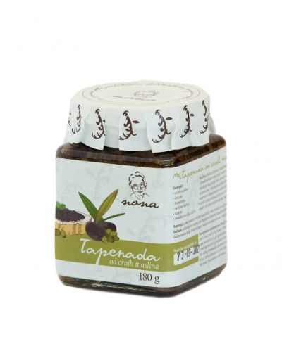 Tapenade from black olives