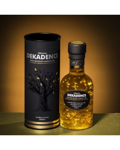 Dekadence - golden olive oil, 200ml