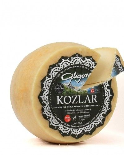 Kozlar - goat milk cheese 1/8, min.110g