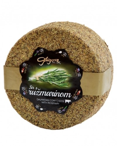 Cheese with rosemary