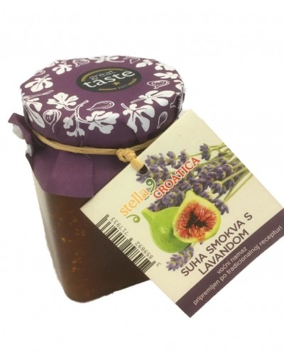 Dried fig and lavender - fruit spread 250g