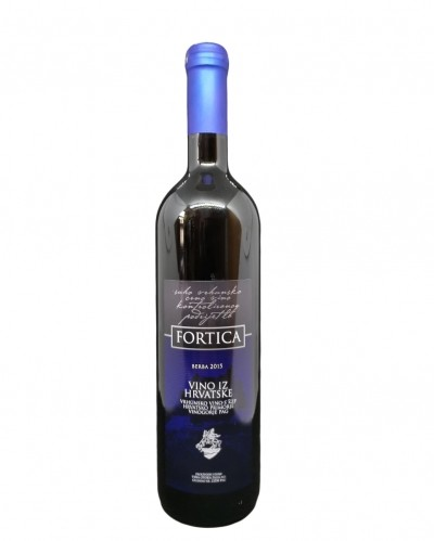 Fortica - quality red wine from island of PAG