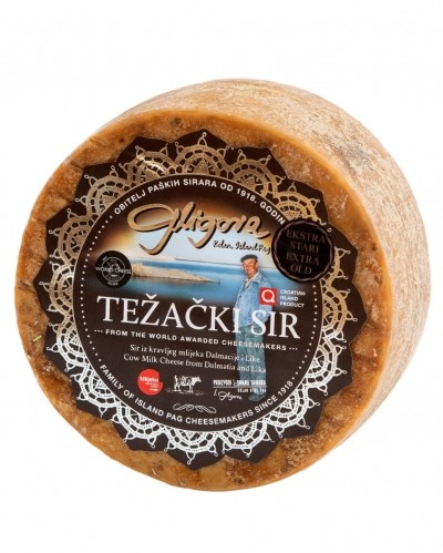 Tezacki cheese extra mature (12m+)