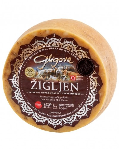 Zigljen cheese extra mature - 8 months