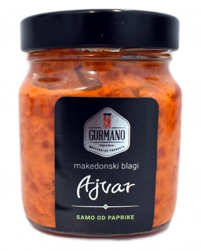 Gurmano Ajvar, homemade mild