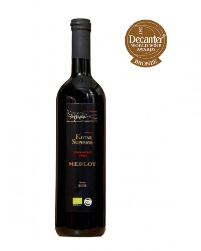 Merlot red wine 0,75L - Masvin