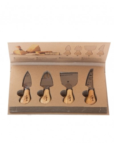 Cheese knife set (4)