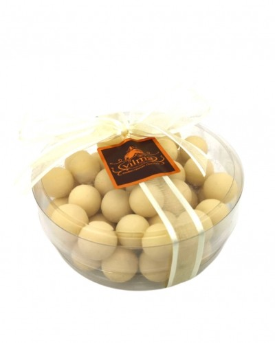 chocolate dragees - white chocolate