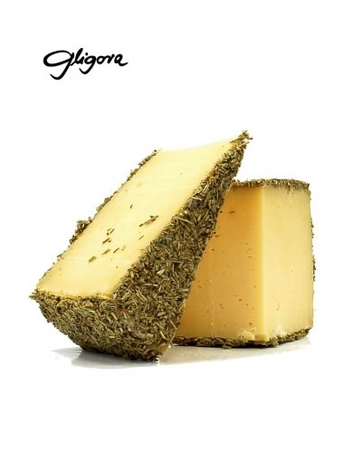 Cow milk cheese with rosemary, 1/8, min.110g