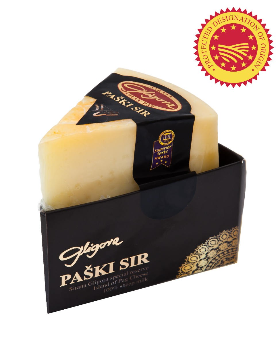 Paski sir 325g (6m) gift package (PDO)
