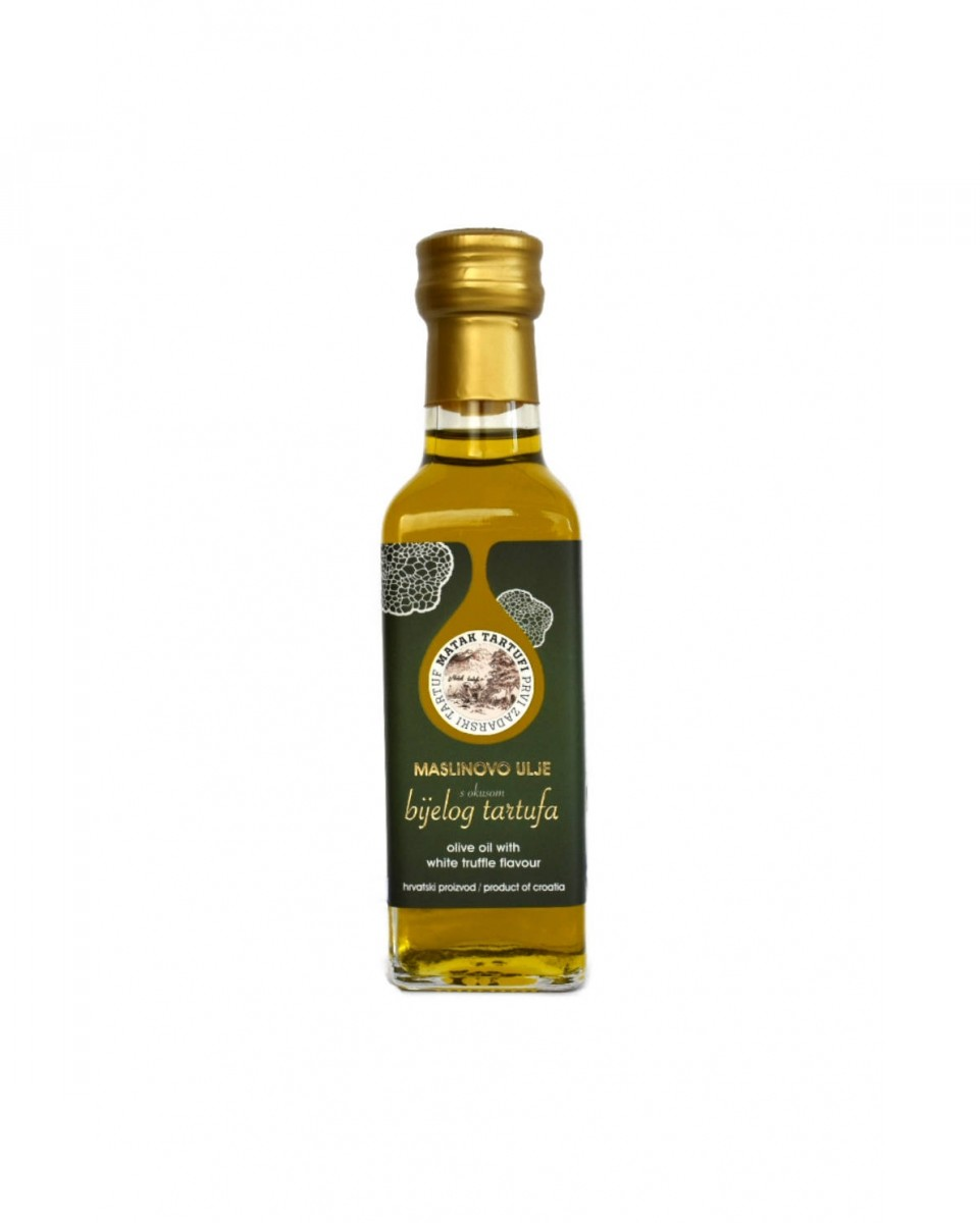 Olive oil with flavour of white truffle