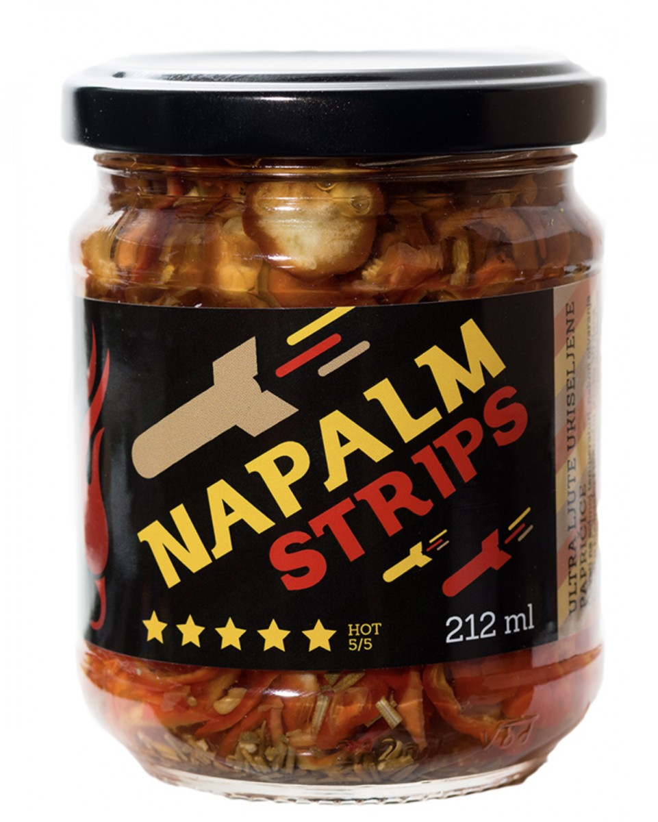 Napalm Strips Pickled Peppers