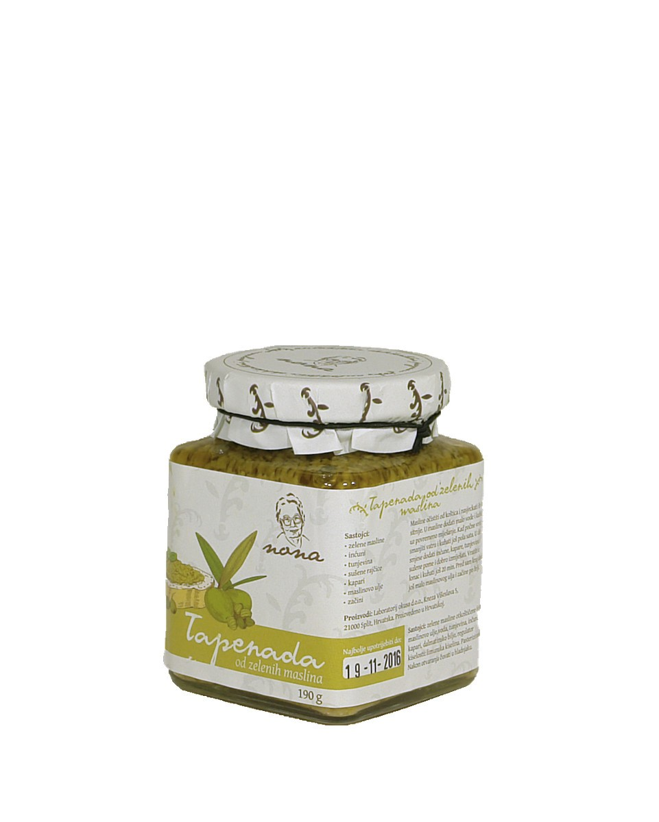 Green olives tapenade