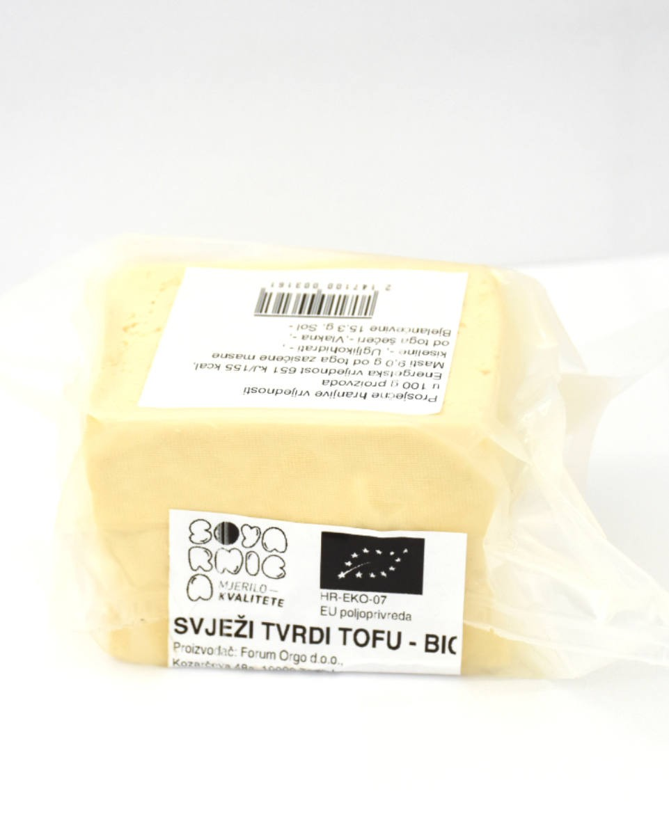 Fresh, hard Tofu BIO