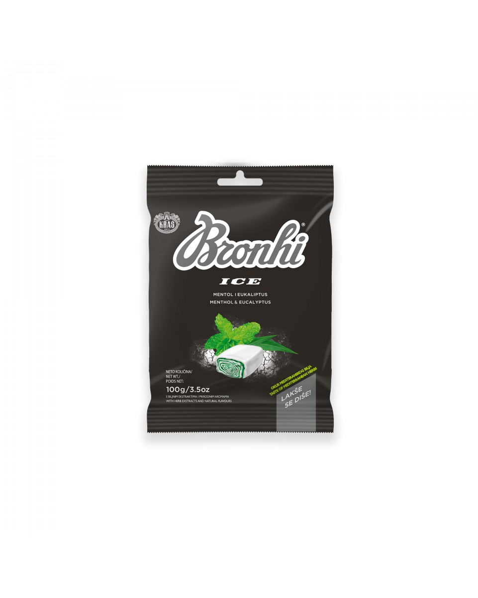 Bronhi - toffee with herb extracts